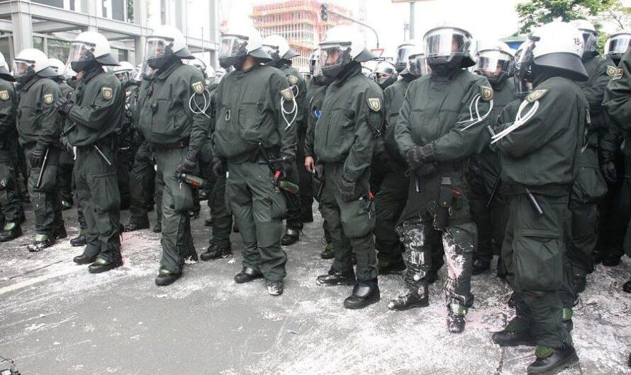 Gewalt gegen Polizisten im Aufwärtstrend