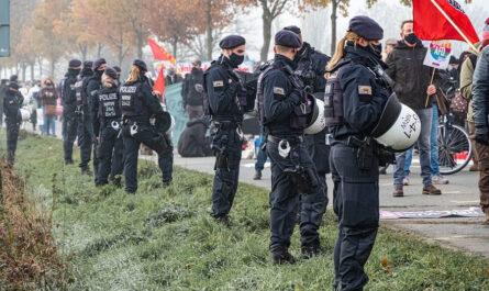 Gewalttaten gegen Polizeibeamte